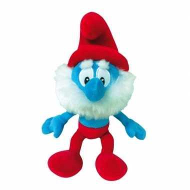 Pluche grote smurf smurfen knuffel pop 38 cm speelgoed prijs