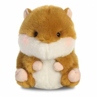 Pluche hamster knuffeldier 12 cm prijs