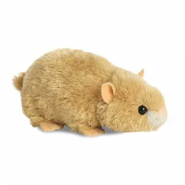 Pluche hamstertje knuffeldier 20 cm prijs