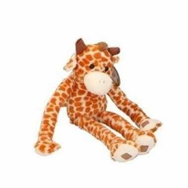 Pluche knuffelbeest giraf van 55 cm prijs