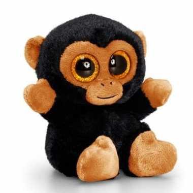 Pluche knuffeldier aap 15 cm prijs