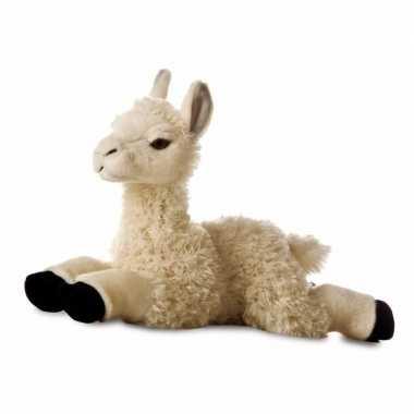 Pluche lama of alpaca knuffeldier 29 cm prijs