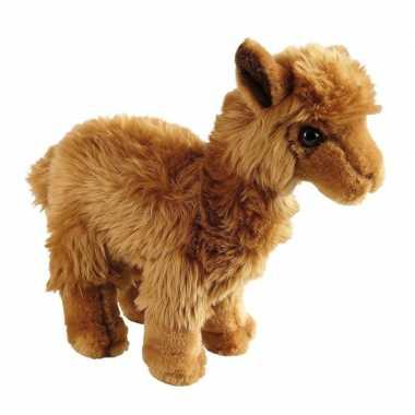 Pluche lamas/alpacas knuffels 24 cm prijs