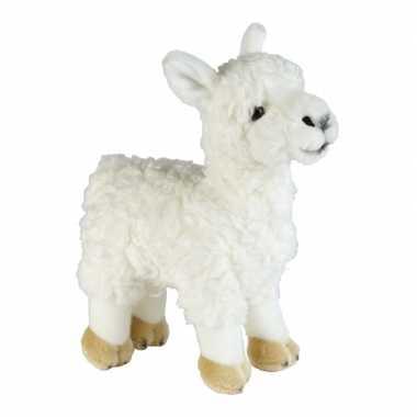 Pluche lamas/alpacas knuffels 32 cm prijs