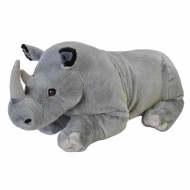 Pluche neushoorn grote dierenknuffel 76 cm prijs