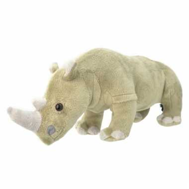 Pluche neushoorn knuffeldier 30 cm prijs