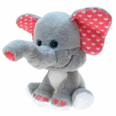 Pluche olifant grote dierenknuffel 0 cm prijs