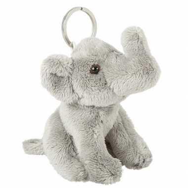 Pluche sleutelhanger olifantje knuffel 10 cm prijs