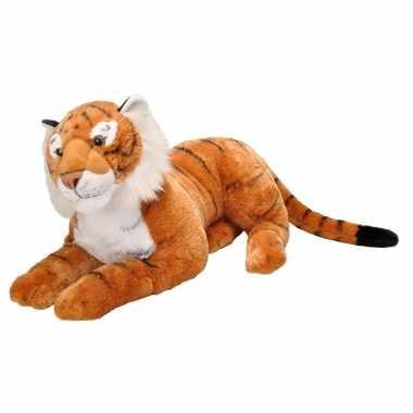 Pluche tijger grote dierenknuffel 76 cm prijs