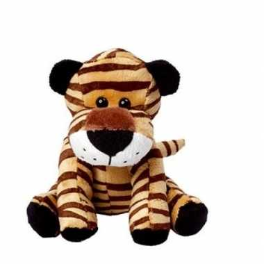 Pluche tijger knuffel / knuffeldier 20 cm prijs