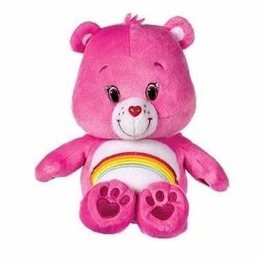 e97e47cd4d876d Pluche troetelbeertjes knuffeltje roze 22 cm prijs   Blogshot.nl