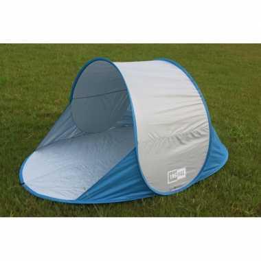Pop-up strandtent / tentje blauw prijs