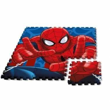 Puzzeltegels speelmat 9 stuks marvel spiderman prijs