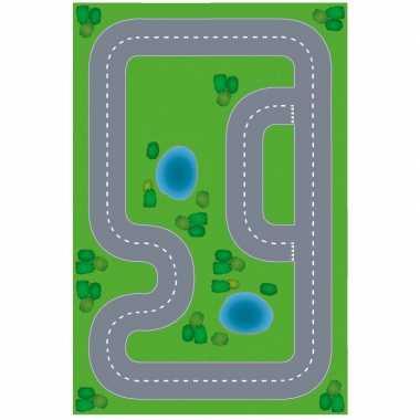 Race circuit diy speelgoed stratenplan/ kartonnen speelkleed prijs