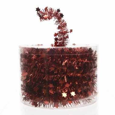 Rode feestslinger 700 cm prijs