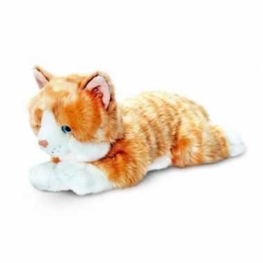 Rode kater katten/poezen knuffel 35 cm prijs