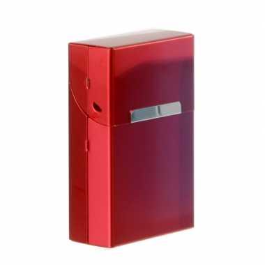 Rode sigarettenbox aluminium prijs