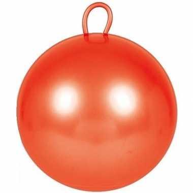Rode skippybal 70 cm voor jongens/meisjes prijs