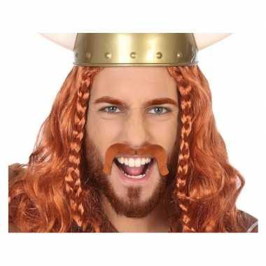 Rode viking nep snor voor volwassen prijs