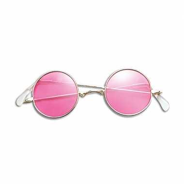 Roze hippie bril prijs