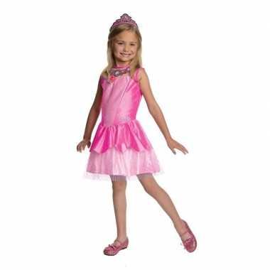 Roze prinsessen jurkje met tiara prijs