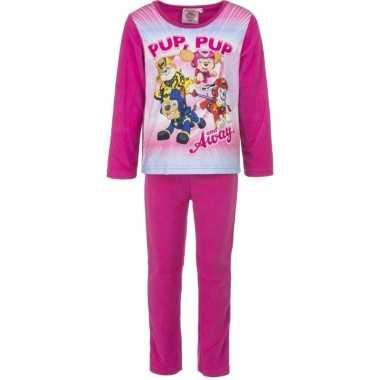 Roze pyjama paw patrol hondjes voor meisjes prijs