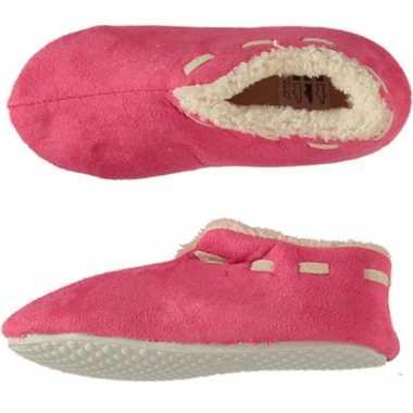 Roze spaanse sloffen/pantoffels stippen voor meisjes maat 35-36 prijs