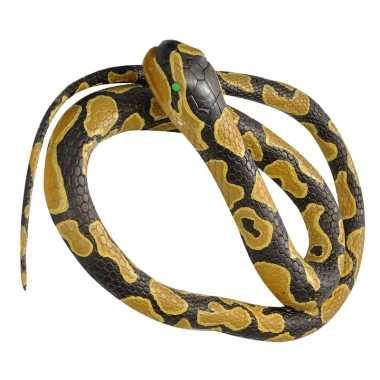 Rubberen dieren koningspython mega slang 183 cm prijs