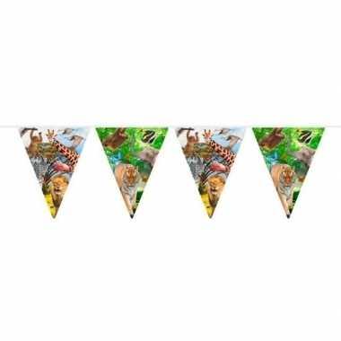 Safari/jungle thema feest slinger 10 meter prijs