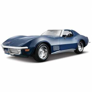 Schaalmodel chevrolet corvette 1970 1:24 prijs