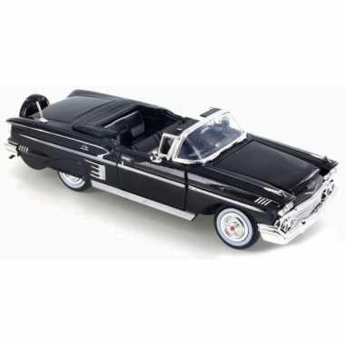 Schaalmodel chevrolet impala 1958 1:24 prijs