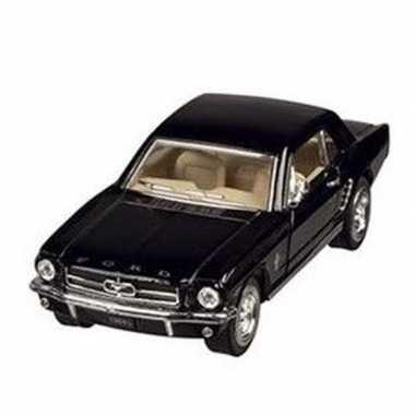 Schaalmodel ford mustang 1964 zwart 13 cm prijs