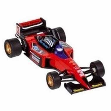 Schaalmodel formule 1 wagen rood 10 cm prijs