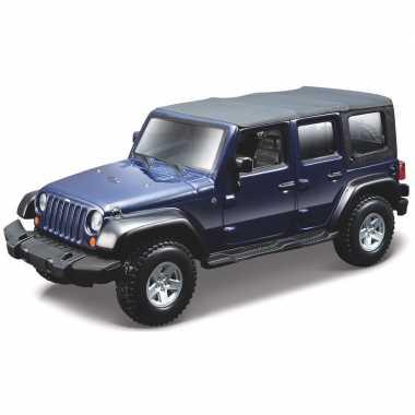 Schaalmodel jeep wrangler 1:32 prijs