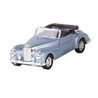 Schaalmodel mercedes-benz 300s cabrio blauw 11,6 cm prijs