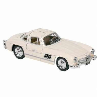 Schaalmodel mercedes-benz 300sl auto creme 12,8 cm prijs