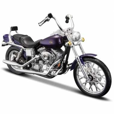 Schaalmodel motor harley davidson dyna wide glide 1:18 prijs