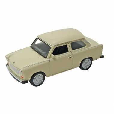 Schaalmodel trabant 601 beige 11 cm prijs