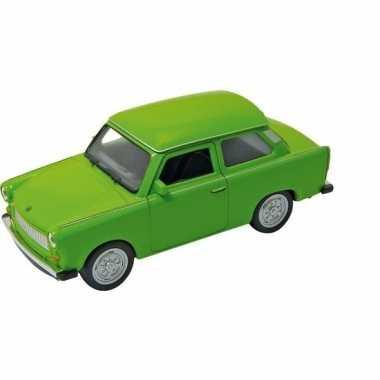 Schaalmodel trabant 601 groen 11 cm prijs