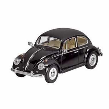 Schaalmodel volkswagen kever zwart 17 cm prijs