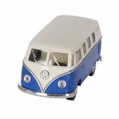 Schaalmodel volkswagen t1 two-tone blauw/wit 13,5 cm prijs