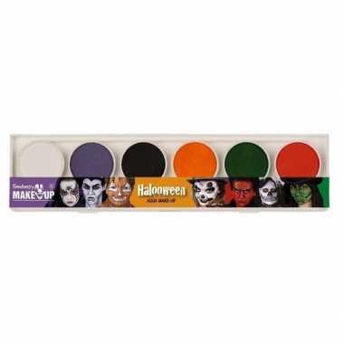 Schmink palet horror thema 6 diverse kleuren prijs