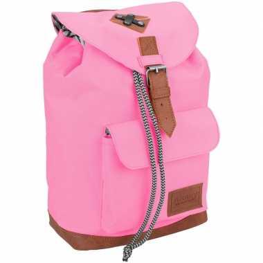Schooltas roze 29 cm voor kinderen prijs