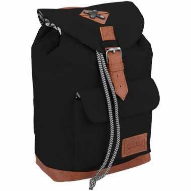 Schooltas zwart 29 cm voor kinderen prijs