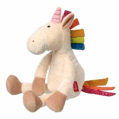 Sigikid knuffeldier witte unicorn 35 cm prijs