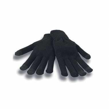 Smartphone handschoenen zwart voor volwassenen prijs