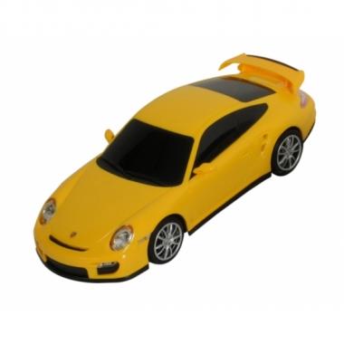 Speelauto porsche 911 turbo geel prijs