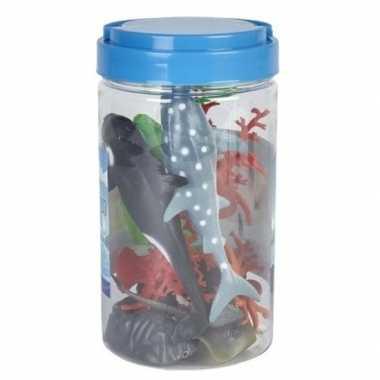 Speelemmer met mini figuurtjes oceaan dieren prijs