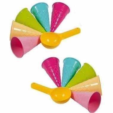 Speelgoed ijs zandvormen 12 delig prijs