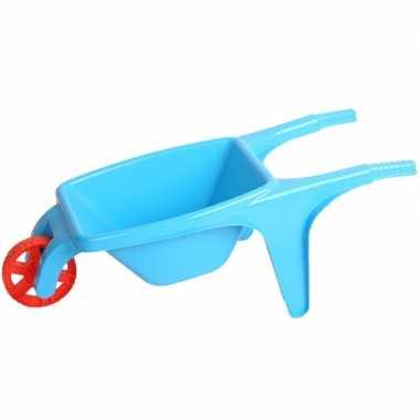 Speelgoed kruiwagen blauw 70 cm prijs